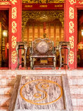 Main gate of Phra Thinang Wehart Chamrun Stock Photography