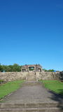 Main gate of ratu boko palace Stock Photo