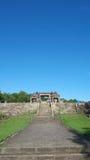 Main gate of ratu boko palace Stock Photo