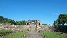 Main gate of ratu boko palace Stock Photography