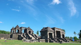 Main gate of ratu boko palace Royalty Free Stock Photos