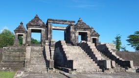Main gate of ratu boko palace Royalty Free Stock Photos