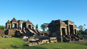 Main gate of ratu boko palace Royalty Free Stock Photo
