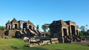 Main gate of ratu boko palace royalty free stock photo