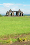 The main gate of ratu boko palace complex Royalty Free Stock Photography