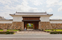 Main Gate of Tanabe Castle in Maizuru, Japan Stock Photos