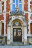 Main gate to the hospital of Brothers Hospitallers of St. John o Royalty Free Stock Photos
