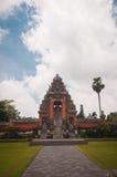 Main gate to Pura Taman Ayun Stock Photos