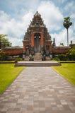 Main gate to Pura Taman Ayun Stock Photo