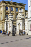 The main gate to the University of Warsaw Stock Photography