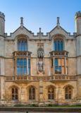 Main gate of the Trinity college, est. 1546 Cambridge Royalty Free Stock Photo