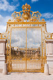 Main gate of Versailles palace Stock Image