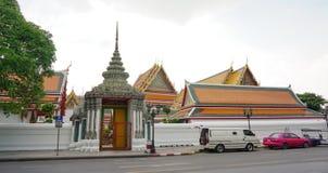 Main gate of Wat Pho in Bangkok Royalty Free Stock Photo