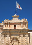 The Main Gate (Mdina Gate), Mdina. Malta Royalty Free Stock Photography