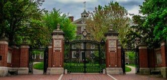 Main Gates to Brown University. Royalty Free Stock Photo