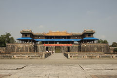 Main Gateway in the Forbidden Purple City in Hue, Vietnam. Stock Photography