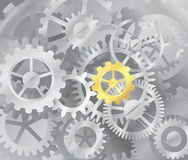Main gear - mechanism illustration Stock Photography