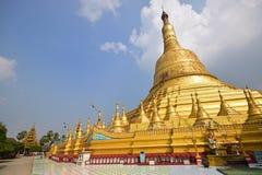 Main giant stupa of Shwemawdaw Pagoda at Bago, Myanmar Stock Images