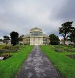 Main glasshouse of The National Botanic Gardens in Dublin, Ireland Royalty Free Stock Photography