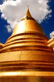 The Main Golden Stupa at Wat Pra Kaew Royalty Free Stock Photos