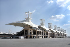 Main grandstand in BIC Stock Images