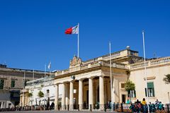 Main guard building, Valletta. Stock Images