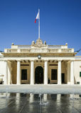 The Main Guard and The Chancellery, Valletta, Malta Stock Images