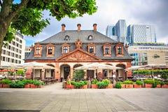 Main Guard Plaza of Frankfurt Stock Photos