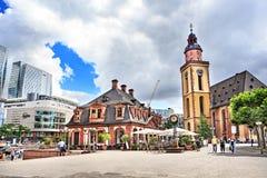 Main Guard Plaza of Frankfurt Royalty Free Stock Images