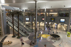 The main Hall of the D Gates at McCarran in Las Vegas, NV on Jul Royalty Free Stock Photo