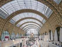 Main hall of d`Orsay Museum Royalty Free Stock Photography