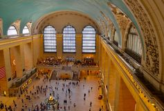 Main Hall of Grand Central Terminal, NYC Royalty Free Stock Photo