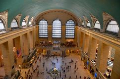 Main Hall of Grand Central Terminal, NYC Stock Photography