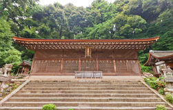 Main Hall Honden (1067) of Ujigami Shinto Shrine in Uji, Japan. Stock Image