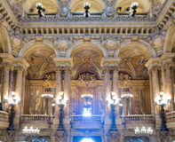 Opera Garnier interior Royalty Free Stock Photo