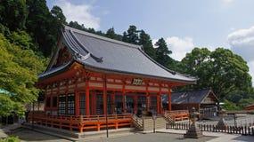 Main Hall of Katsuoji temple in Japan Stock Images