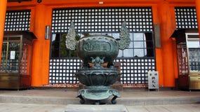 Main Hall of Katsuoji temple in Japan Royalty Free Stock Image