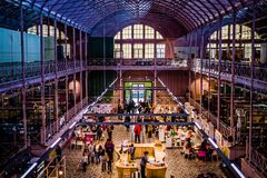 Main Hall at Museum of Childhood. Main Hall at V&A Museum of Childhood Bethnal Green, London royalty free stock photos