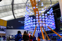 Main Hall in The O2 Royalty Free Stock Images