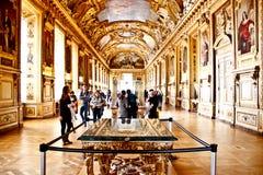 Main hall of the Palais de Louvre 1 Stock Photo