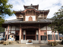 Main hall of Shohoji temple, housing Gifu Great Buddha Stock Images