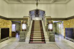 Main hall stairs Stock Images