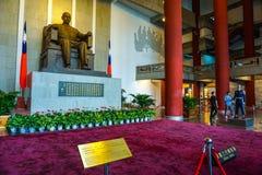The main hall of Sun Yat-sen Memorial Hall in Taipei City, Taiwan stock images