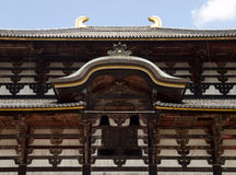 Main Hall of Todaiji Temple Royalty Free Stock Photography