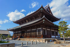 Main Hall of Todaiji Temple in Kyoto Royalty Free Stock Image