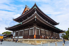 Main Hall of Todaiji Temple in Kyoto Stock Image