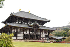 Main Hall of Todaiji Temple Stock Photography