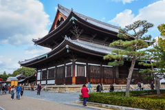 Main Hall of Tofukuji Temple in Kyoto Stock Photography