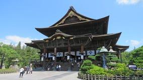 Main hall of Zenko ji temple in Nagano Stock Images