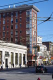 Single Room Occupancy hotels in Vancouver's Downtown Eastside. Stock Photos